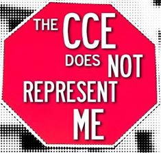 The CCE does not support me!